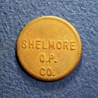 South Carolina Oyster Token - Shelmore Oyster Products Co,  10,  Awensdaw,  Sc photo
