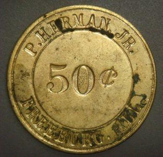 P.  Herman Jr.  50¢ Freeburg,  Ill. photo