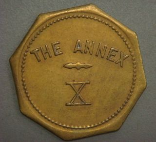 The Annex X,  Good For 10¢ In Trade (soda Springs,  Id.  Or Salt Lake City,  Ut. ) photo