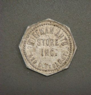 Huffman Auto Store Inc.  518 W.  Broad St.  Good For 7¢ In Merchandise (richmond,  Va) photo