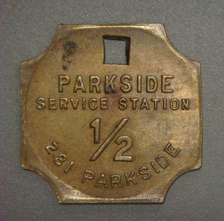 Parkside Service Station 1/2 281 Parkside (buffalo,  N.  Y. photo