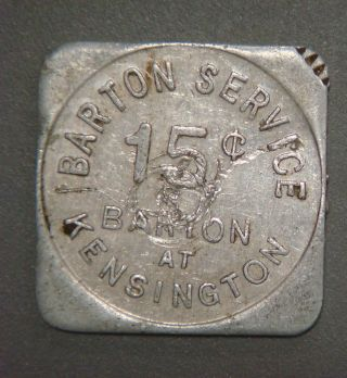 Barton Service 15¢ Barton At Kensington (buffalo,  N.  Y. ) photo