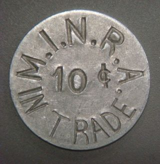 M.  I.  N.  R.  A.  (mare Island Naval Reserve Activity) 10¢ In Trade photo