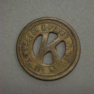 Wheeler & Puzey 5¢ In Trade (seattle,  Wash. )