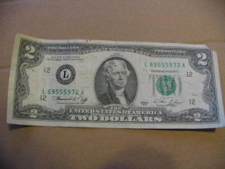 Two Dollar Bill 1976 L 69555972 A Bicentennial photo