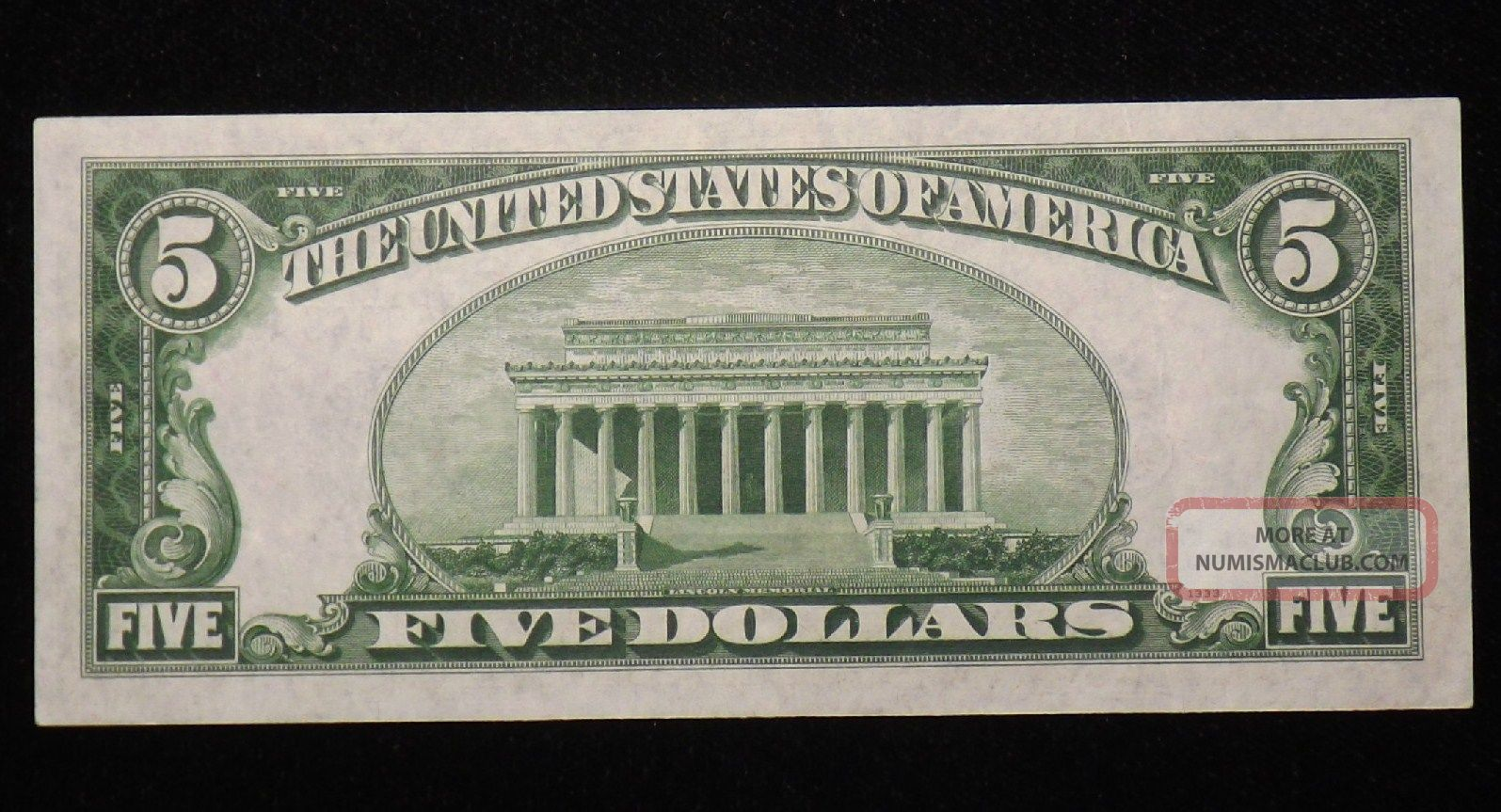 silver certificate dollar 1934 uncirculated five notes enlarge