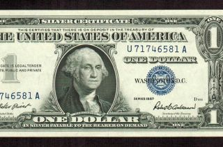 1957 1 Silver Certificate Au More Currency 4 Conbined Sh Xfo Photo