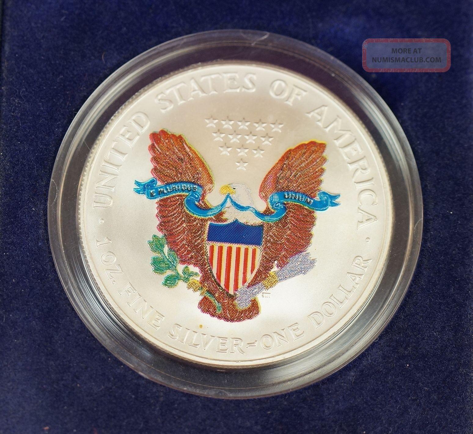 1 Ounce Silver Coin Canada 2000 Norfed One Ounce Silver