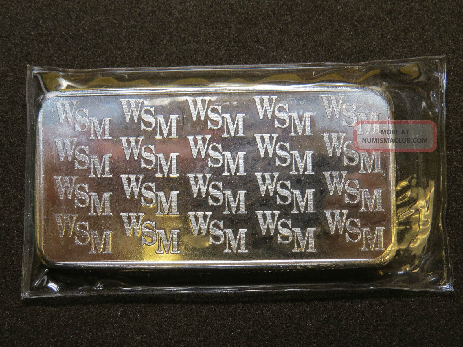 10 Oz Silver Bar Wall Street Discontinued Twin Towers Fine