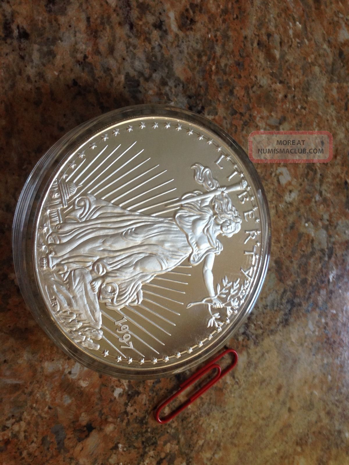 Silver Coin 1000 Grams 35 273 Ounces Beautiful Heavy Rare