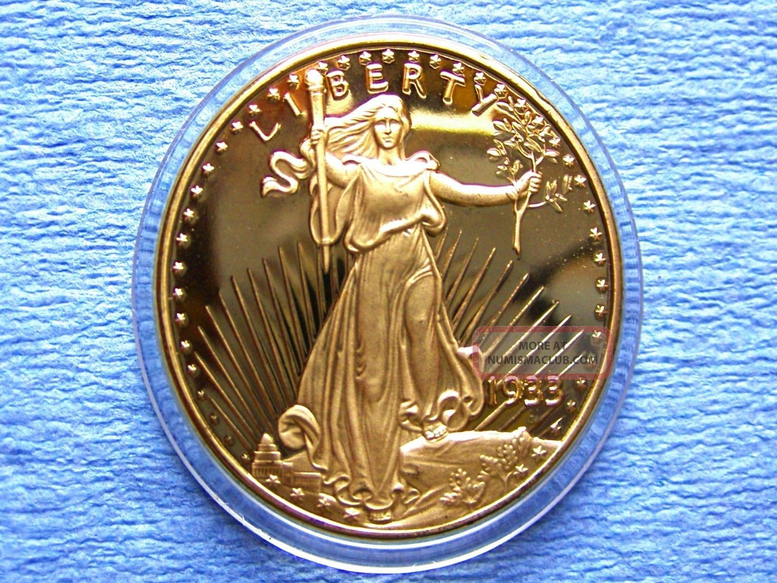 1933 St Gaudens 20 Gold Double Eagle Quot Rare Quot 1 Ounce