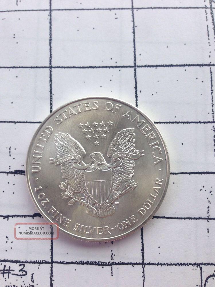 2000 American Eagle Silver Dollar 1 0 Oz 999 Fine