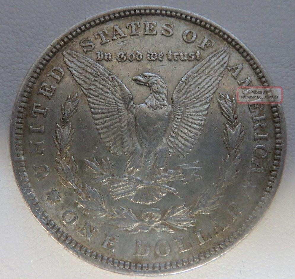 1921 P Morgan Silver Dollar Coin