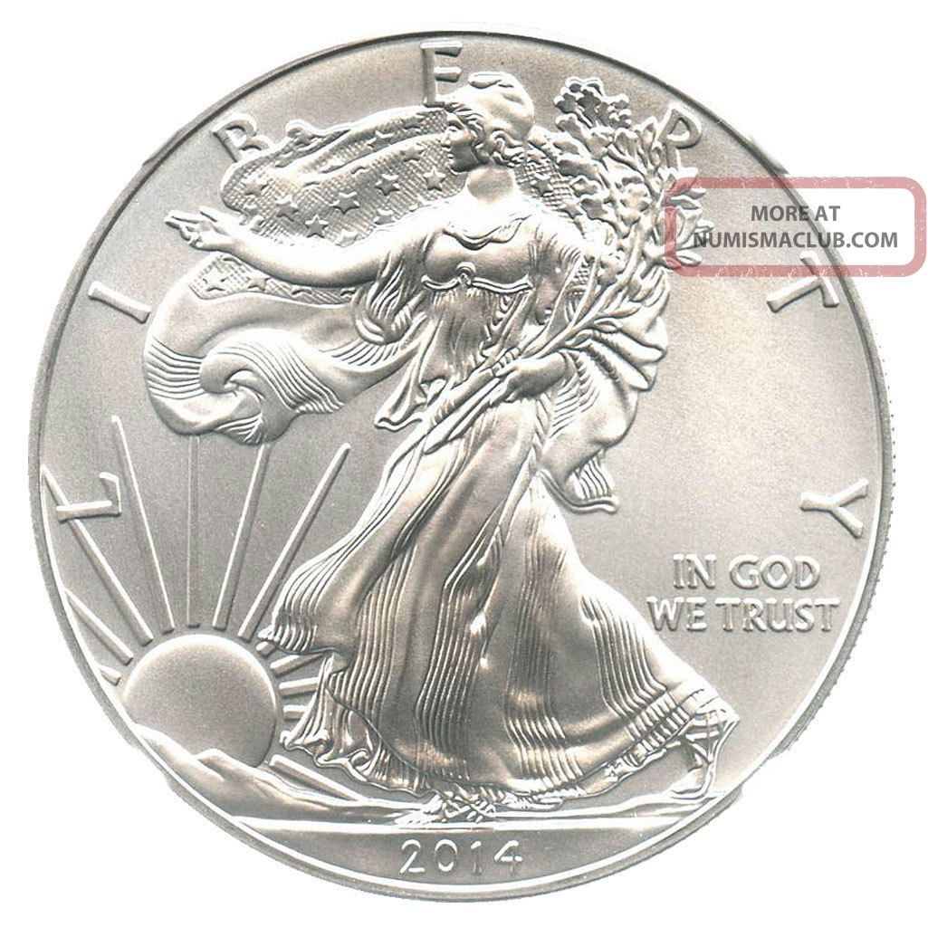 2014 Silver Eagle 1 Ngc Ms69 Early Releases American