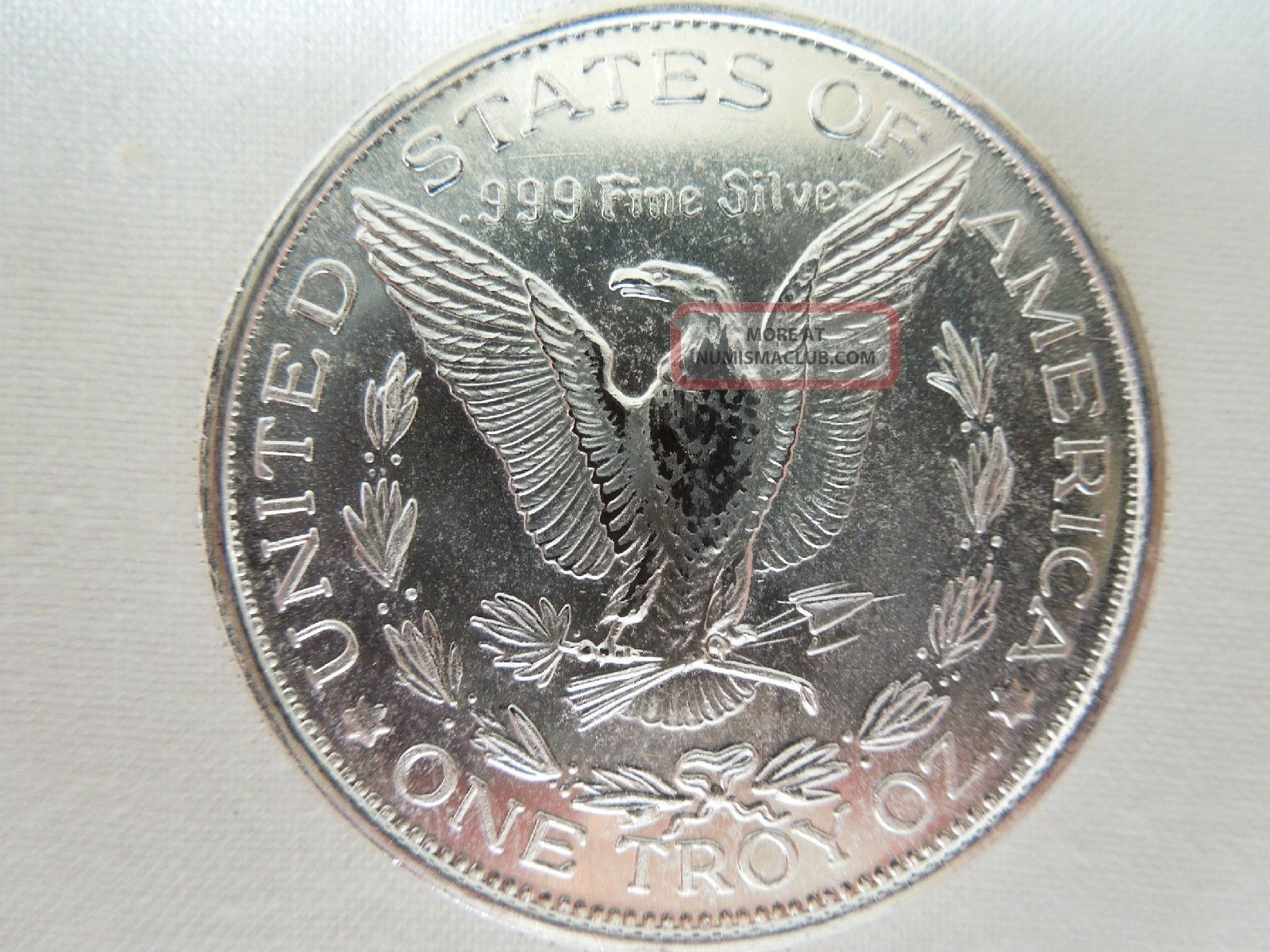 1 1 Oz 999 Fine Silver Round Morgan Dollar Design