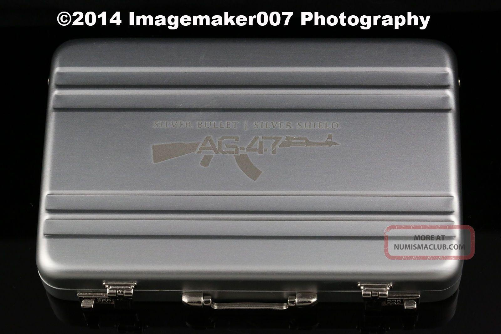1oz Ag 47 999 Silver Proof W Original Gun Case Sbss