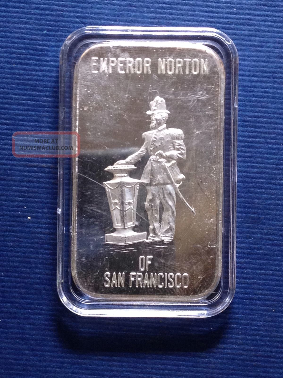 Cgsf Emperor Norton San Francisco 1 Troy Oz 999 Fine