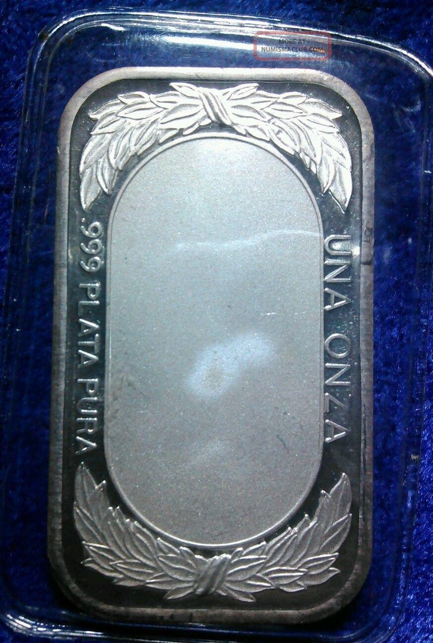 Rare 1970 S Dia De Las Madres 999 1oz Fine Silver