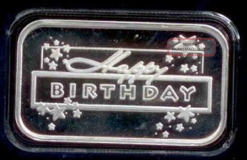2014 Birthday Stars Silver Bar Love Gift Box R And L