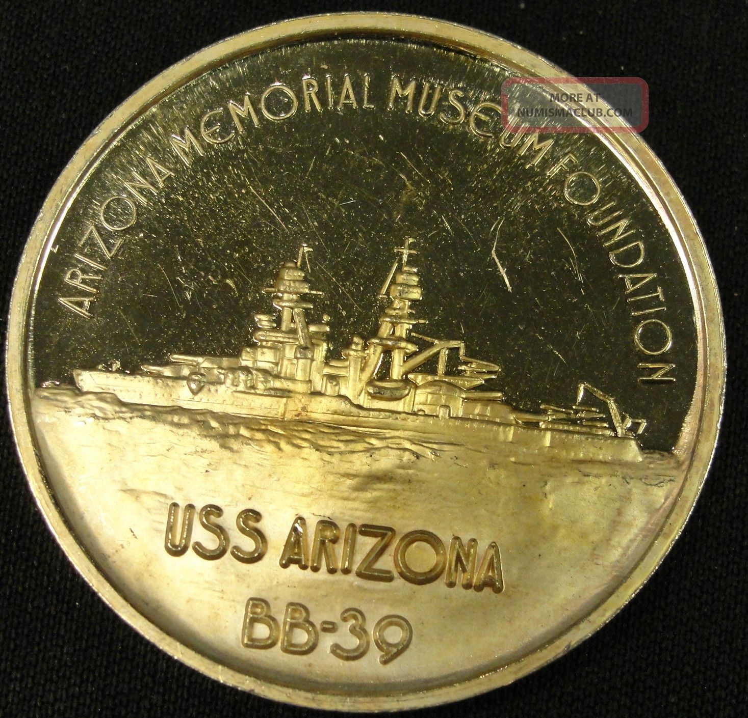 Rare Honolulu Pearl Harbor Silver Round 999 1oz Bullion Ph4t