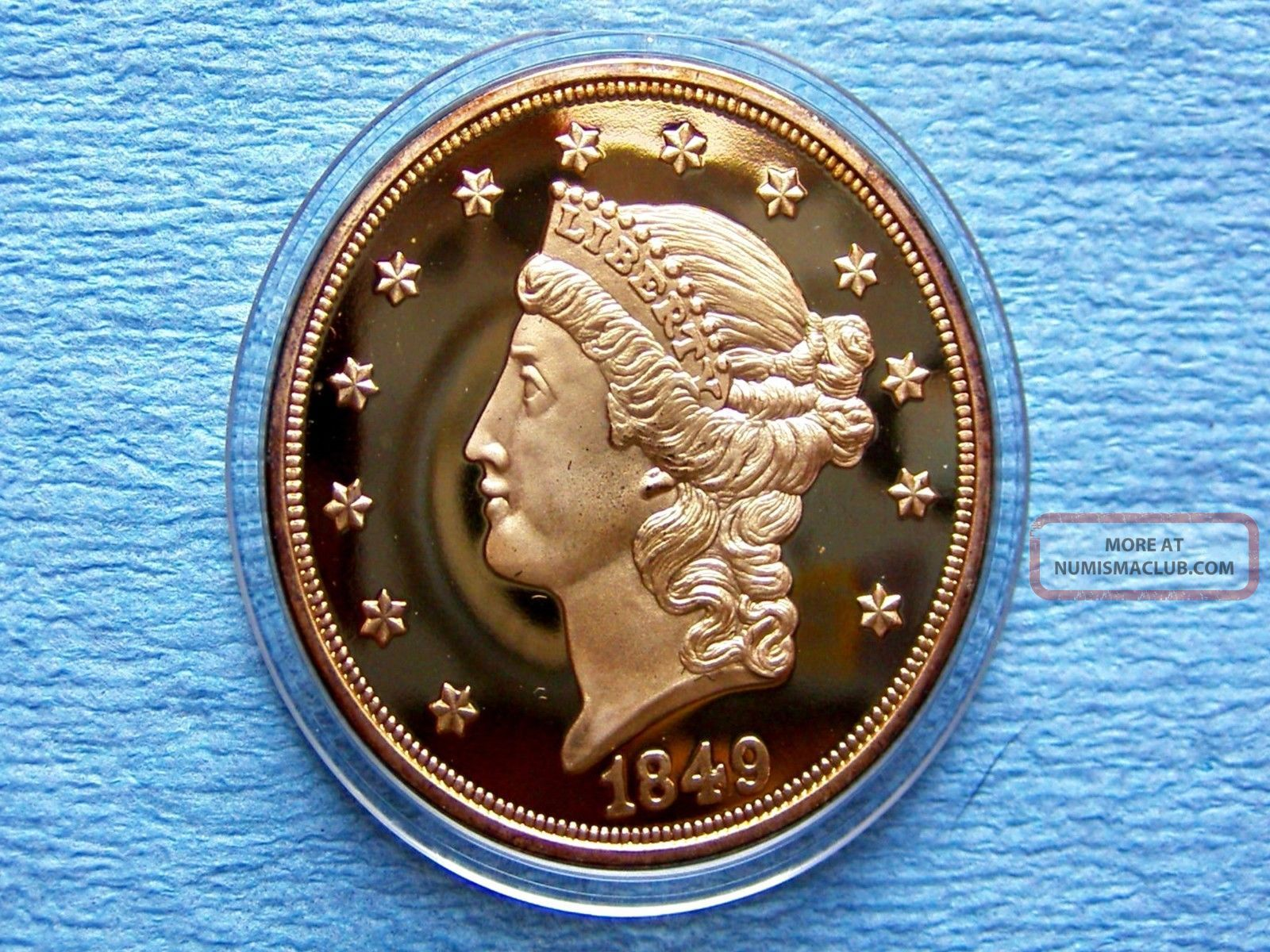 1849 Liberty Head 20 Gold Double Eagle Quot Rare Quot 1 Ounce