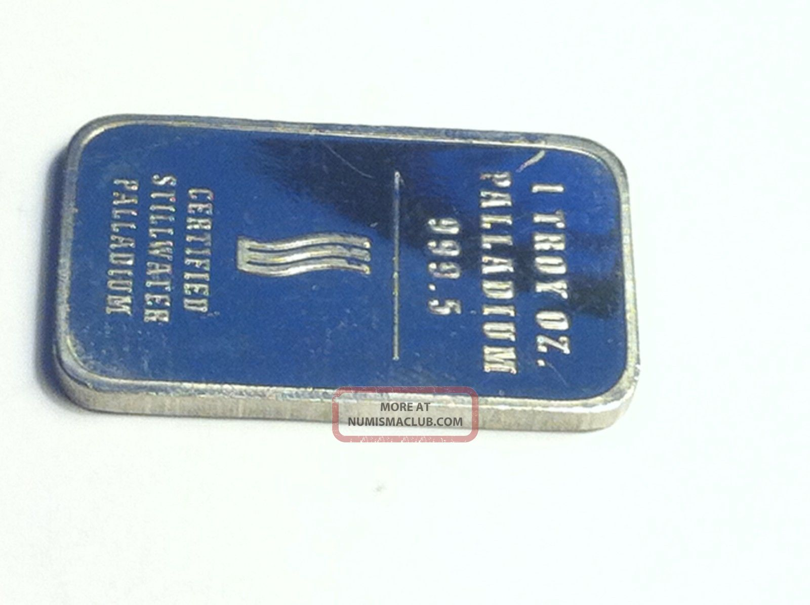 Coinhunters 1 Oz Palladium Bar Johnson Matthey Lewis