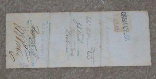 National Exchange Bank Note 1861 photo