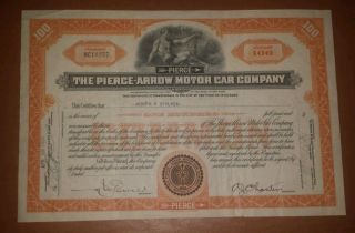 The Pierce Arrow Motor Car Company 1935 (very Rare). photo