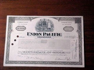 Gm Stock Certificate Look photo