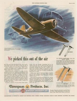 1948 Boeing Peace Patrol B - 50 Airplanes Print Ad photo