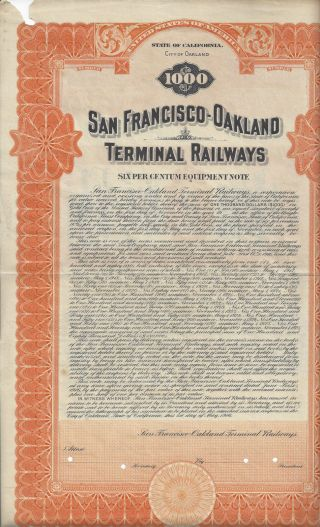 Key System - San Francisco Oakland Terminal Railways photo