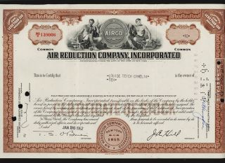 Gas : Air Reduction Co (now Airco British Oxygen / Linde Group Germany photo