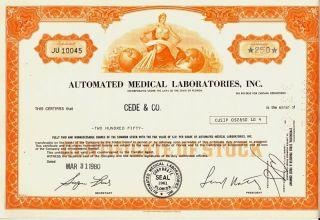 Automated Medical Laboratories Inc Florida 1980 photo