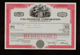 Insurance: Cna Financial Corp Chicago Illinois (a Loews Corp Company) photo