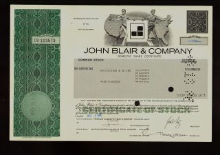John Blair & Co York - Radio Tv Television Iss Oppenheimer & Co 1986 photo