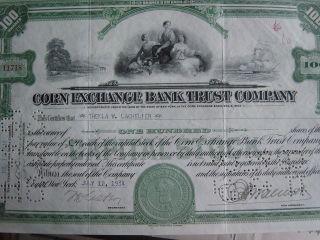 Corn Exchange Bank Trust Company,  Chemical Bank photo
