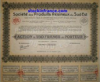 Société Des Produits Résineux Du Sud - Est photo