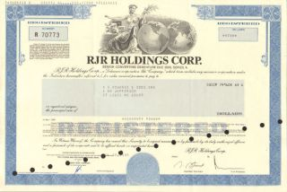 A.  G.  Edwards Issued Stock Certificate Share Vintage photo