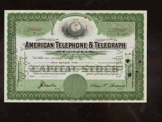 Att American Telephone Telegraph Company 1955 Iss To Robert Moyar photo