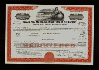 Realty & Mortgage Investors Of The Pacific (bank Of Hawaii / Rampac) photo