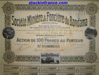 Société Minière & Fonciére Du Bandama photo