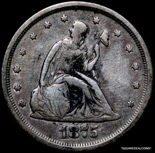 1875 - S Twenty Cents photo