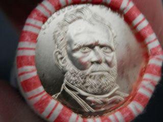 Ulysses S.  Grant Presidential $1 Coin — 18th President,  1869 - 1877. photo