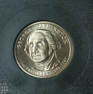 2007 - D George Washington - Position B - Satin Uncirculated photo