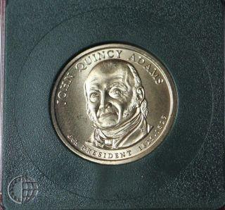 2008 - D John Quincy Adams - Position A - Satin Uncirculated photo