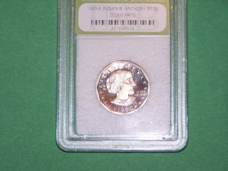 1980 - S Susan B.  Anthony Uncirculated Pf Dcam Collectible Coin photo