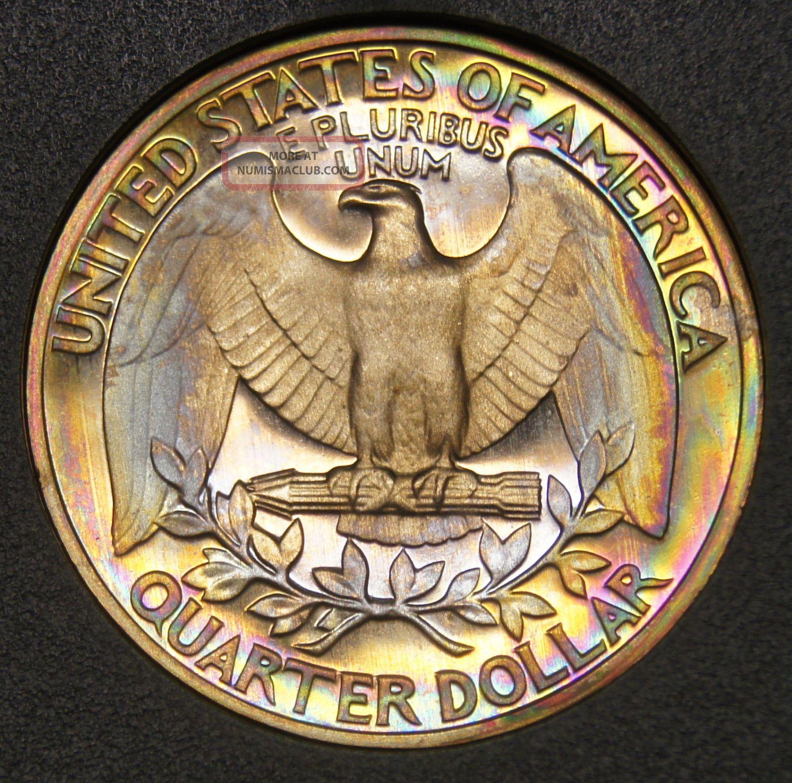 1979 S 25 Cents Type 1 Deep Cameo Proof Washington