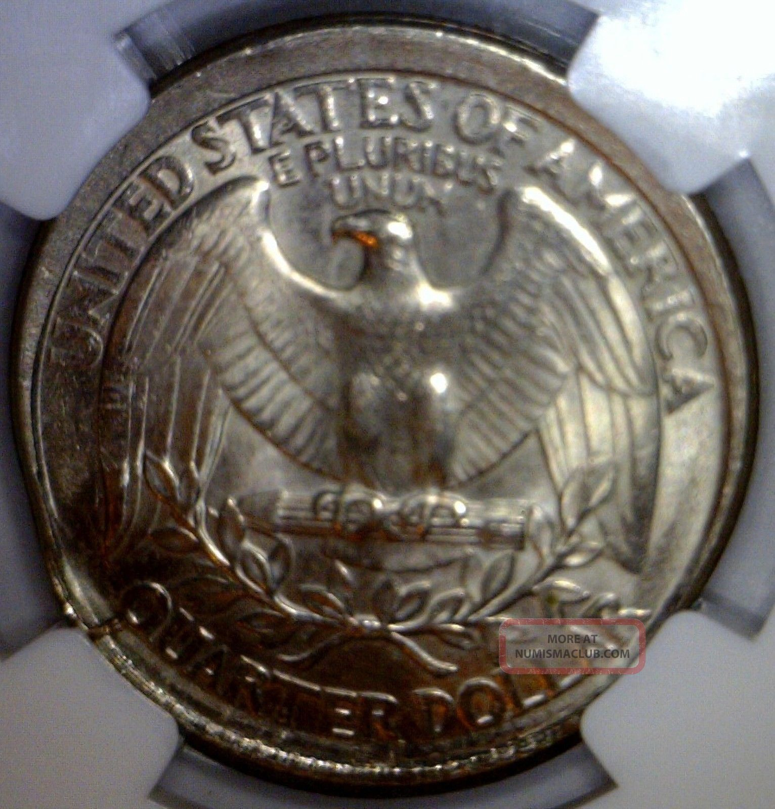 1996 Large Indent Ngc Ms65 Broadstruck Error Washington