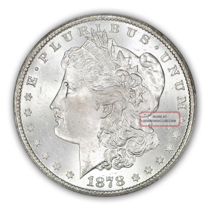 1878 Cc 1 Morgan Dollar Pcgs Ms65 Obv Color 1076 3