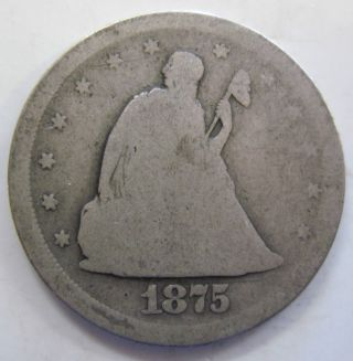 1875 S Silver Twenty Cent Piece (614g) photo